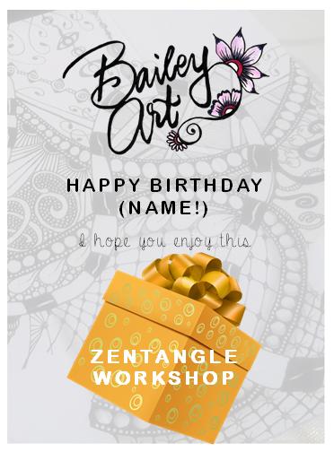 Example Birthday Voucher
